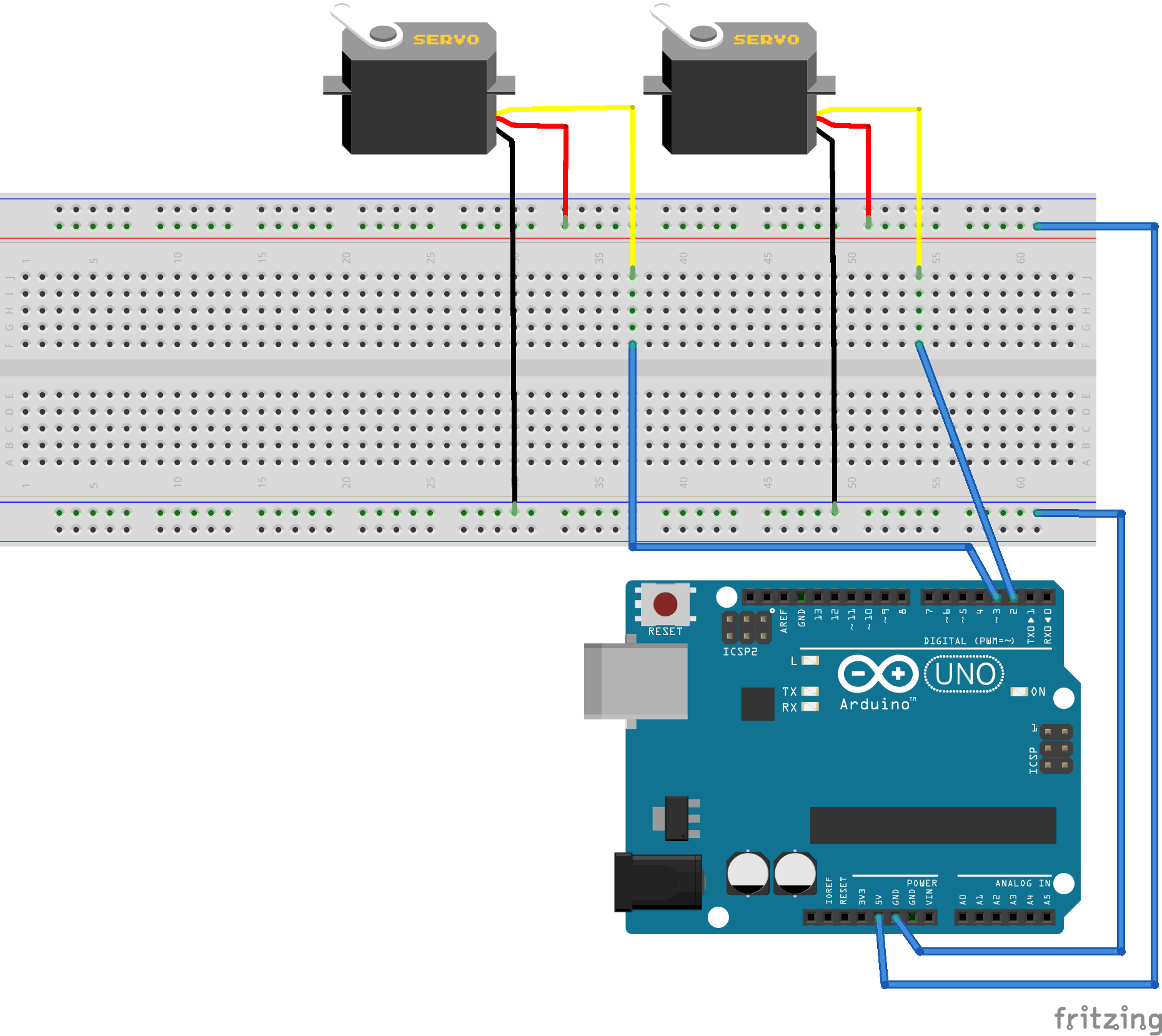 arduino servo projects